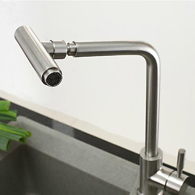 304 Stainless Steel Lead-free Kitchen Faucet Mixer Drinking Water Filter Tap Purified Water Spout