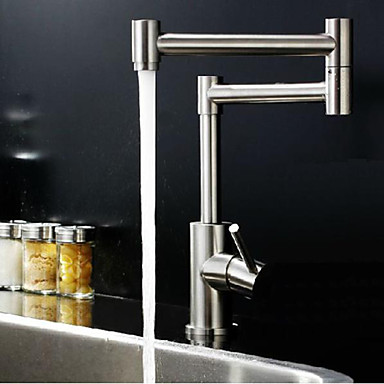 304 Stainless Steel Lead-Free Faucet Hot And Cold Water Kitchen Sink Faucet Folding Vegetables Pots Faucets