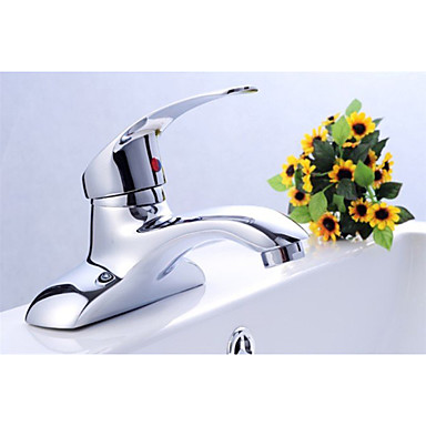 Basin Faucets Solid Brass Chrome Finishing Single Handle Germany Quality Standard