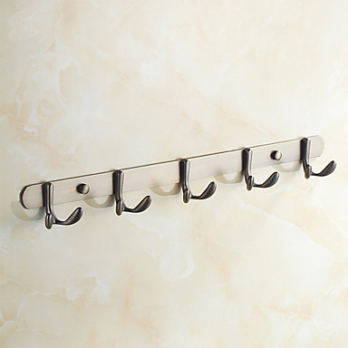 Antique Bronze Wall Mounted Robe Hooks