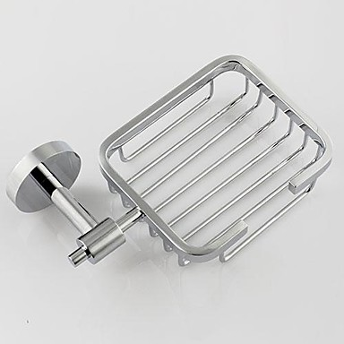 Bathroom Accessories Solid Brass Soap Basket Chrome