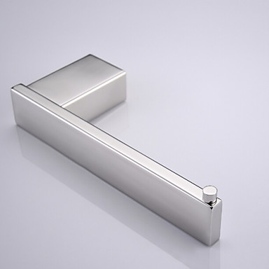 Contemporary Mirror Polished Finish Stainless Steel Material Toilet Paper Holders