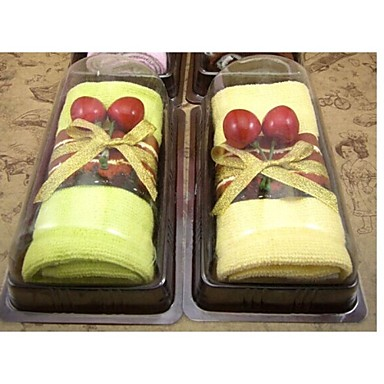 Birthday Gift Sandwich Shape Fiber Creative Towel (Random Color)