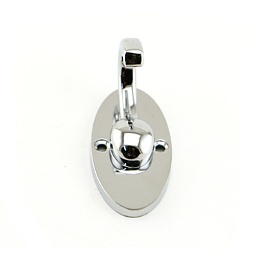 Stainless Steel Bathroom Clothes Hook - Silver